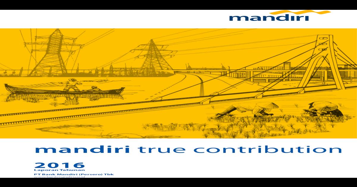 Mandiri True Contribution Iis Windows Ikhtisar Utama 6 Pt Bank