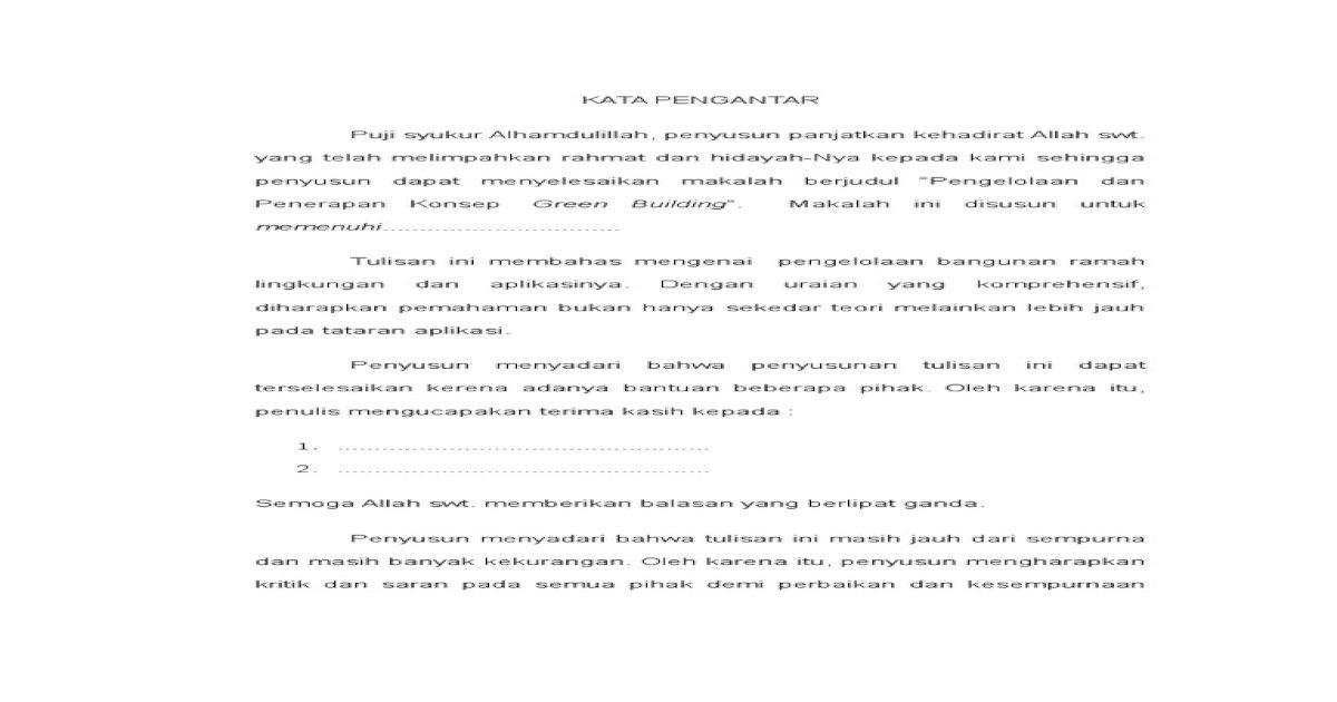 Makalah Green Building.doc - Download PDF