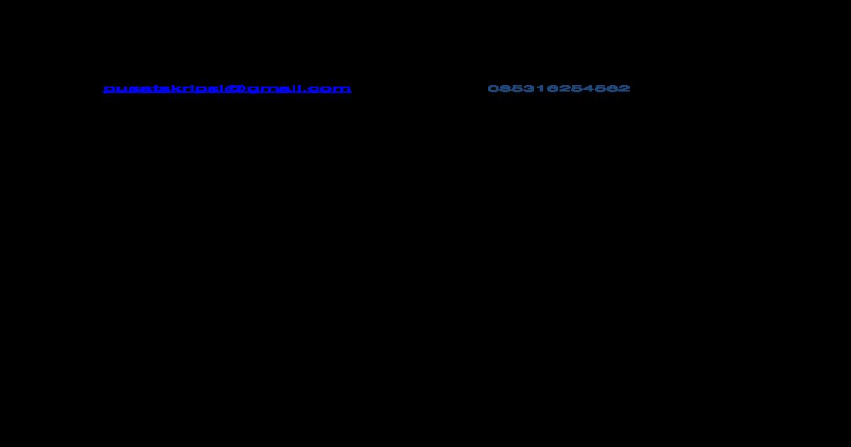 Skripsi Pertanian Dan Produksi Teknologi Docx Document