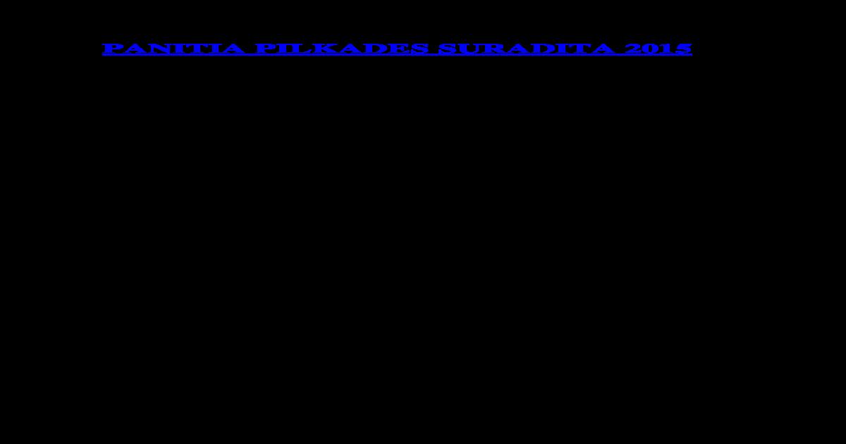 Tatib Pilkases 2015 Draf Docx Document