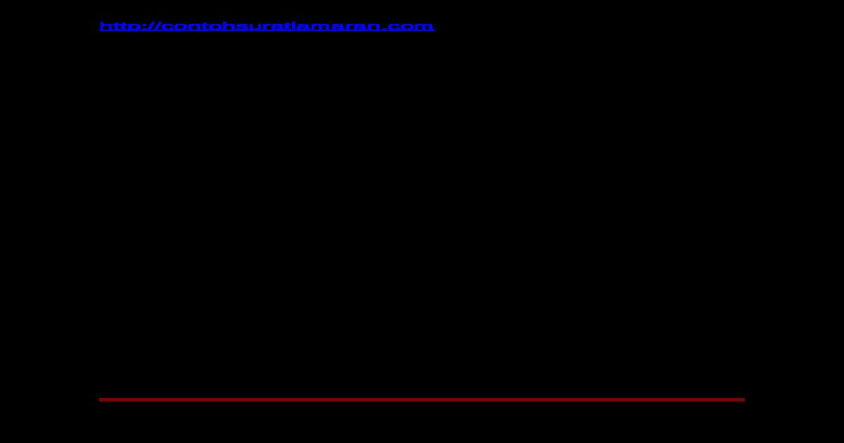 Surat Perjanjian Kerja Spg Doc Document