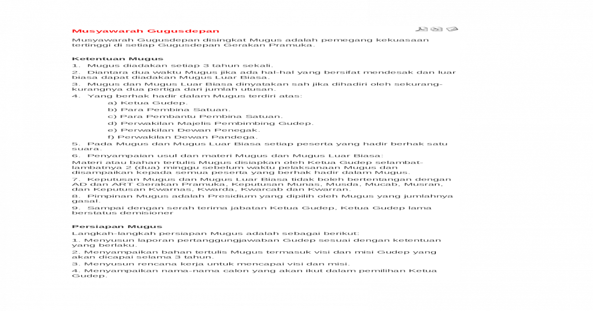 Musyawarah Gugusdepandocx Docx Document